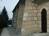 A templom észak-keleti oldala