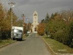 Rákosligeti templom a Gózon Gyula utca felol
