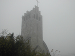 A templom novemberi ködben