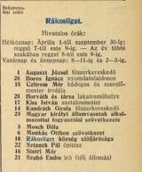 Telefonkönyv 1913
