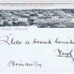 Az első képeslap Rákosligetről