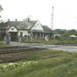 Rákoskeresztúr vasútállomás bontása 2015.