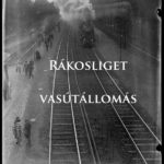Vonat érkezik az állomásra 1930-as évek. Kinszky fotó.