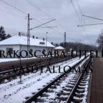Rákoscsaba-Újtelep megálló
