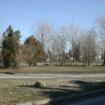 A  temető helyén álló park