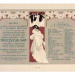 Táncvígalmi meghívó 1911