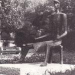 Laborcz szobor a Hősök terén 70-es évek