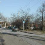 Ananász utca. A kép jobb oldalán volt a régi halottasház