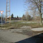 A régi bejárat 2005-ben