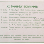 RAC meghívó 1937. 2. oldal