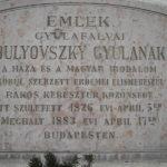 Rákoskeresztúr, Bulyovszki Gyula emléktábla Pesti út 107.
