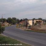 Rákoskeresztúr felüljáró építése 2019.08.25.