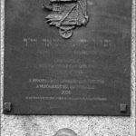 Rákoscsaba zsidó emléktábla 2004-ben. Eltűnt.