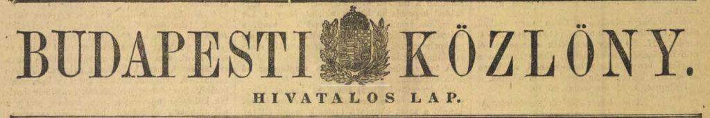 A képhez tartozó alt jellemző üres; Budapesti-Kozlony-címlap-1024x171.jpg a fájlnév