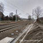 A vasúti pálya a Keleti pu. felé 2020.01.26.
